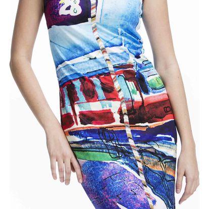 Culito from Spain barevné šaty Tren - S