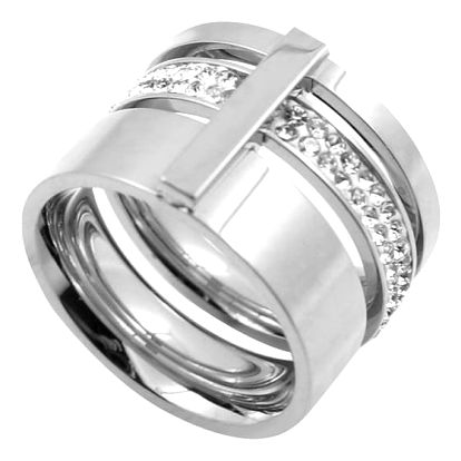 Výrazný šperk s kamínky - ve třech barvách