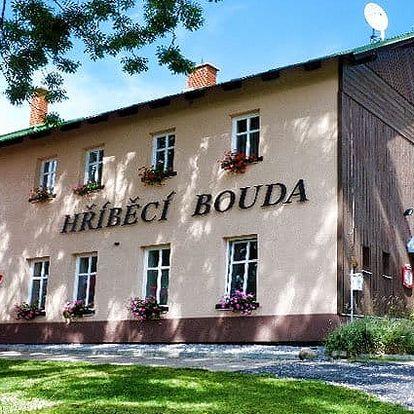 3–6denní pobyt pro 2 s wellness v hotelu Hříběcí bouda*** v Krkonoších