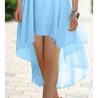 Dámská lehká šifónová sukně v sedmi barvách