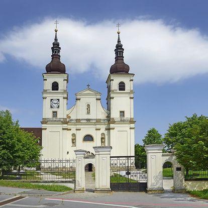 Uherský Brod, hotel Kaunic*** na 3 až 6 dní pro 2 osoby + snídaně a láhev vína