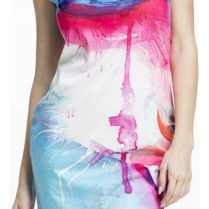 Culito from Spain barevné šaty Gato Vamp - L