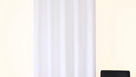 Dekorační závěs 02 bílá 160x250 cm MyBestHome Varianta: závěsy - 2 kusy 160x250 cm