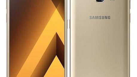 Mobilní telefon Samsung Galaxy A3 (2017) (SM-A320FZDNETL) zlatý Software F-Secure SAFE 6 měsíců pro 3 zařízení (zdarma) + Doprava zdarma