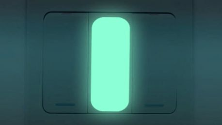Orientační svítící samolepka na vypínač - 10 kusů