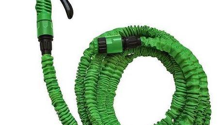 Hadice smršťovací SportTeam 7,5 m zelená