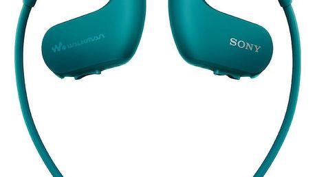 Sony NW-WS413, 4GB, modrá - NWWS413L.CEW