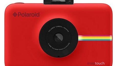 Digitální fotoaparát Polaroid SNAP Instant Digital (POLSP01R) červený