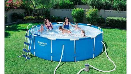 Bazén Bestway Steel Frame Pool 366 x 100 cm + Doprava zdarma