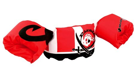 SEVYLOR Plovací top PLAVÁČEK (nosnost 15-30 kg), červený - pirát