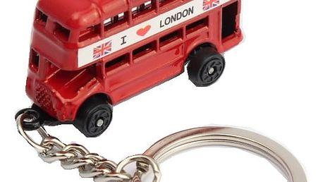 Přívěsek na klíče v britském stylu - různé druhy