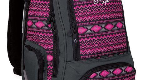 Studentský batoh Topgal HIT 822 H - Pink