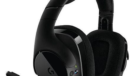 Headset Logitech G533 Wireless (981-000634) černý + Doprava zdarma