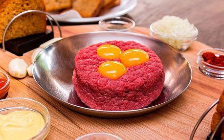 Půl kila tataráku nebo 1,2 kg řízečků