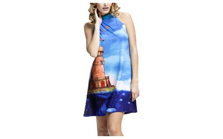 Culito from Spain modré šaty Faro Azul - M