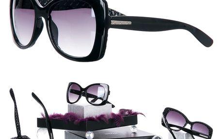 Sluneční brýle černé UV 400