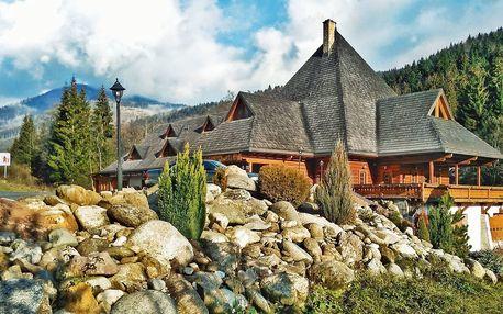 Léto v Nízkych Tatrách na jihu Chopku s wellness