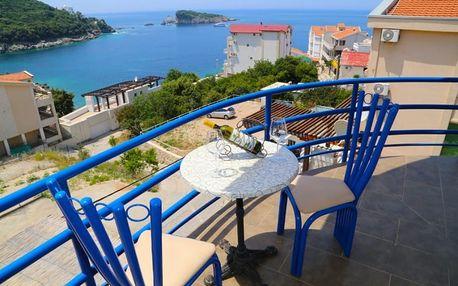 Černá Hora, Barská riviéra, letecky na 8 dní s plnou penzí