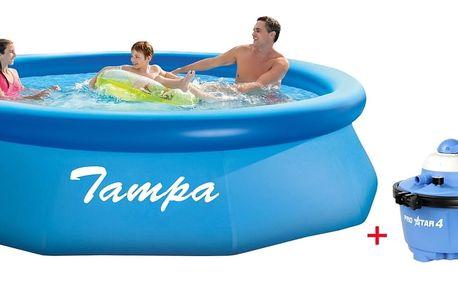 Marimex Bazén Tampa 3,05x0,76 m s pískovou filtrací ProStar 4 - 10340141