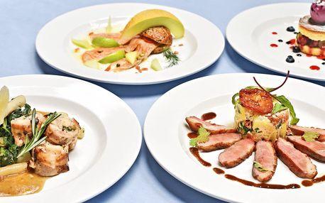 Letní degustační menu U Modré Kachničky