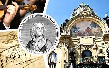 Antonio Vivaldi - Čtvero ročních dob v Obecním domě. Jedinečný zážitek v podobě koncertu Bohemian Symphony Orchestra Prague v komorním obsazení v nádherných prostorách nejprestižnějšího koncertního sálu u nás. Přijměte pozvání a dopřejte si překrásný kult
