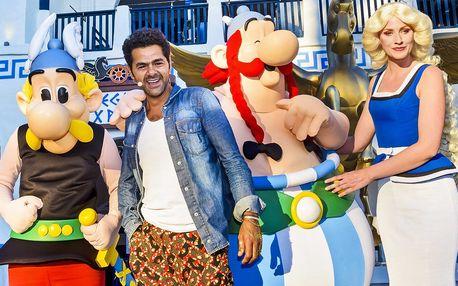 Zábavný park Asterix vč. okružní jízdy po Paříži
