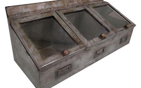 Trojitý úložný box Antic Line Zinc - doprava zdarma!