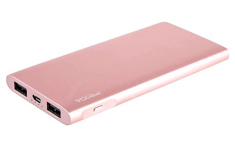 Remax Kinzy PowerBank 10000 mAh Li-Pol, rose gold - PPP-13