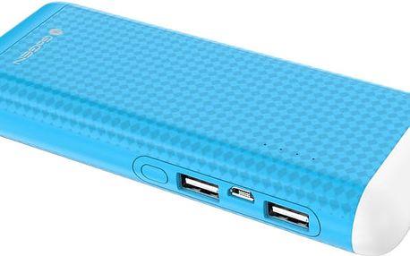 GoGEN PowerBank 12500 mAh, svítilna modrá - GOGPBL125004BL