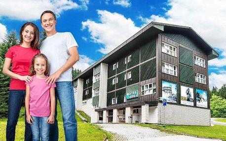 Zážitkový pobyt ve Špindlu pro 2 dospělé a dítě