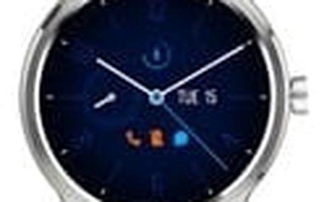 TCL MOVETIME Smartwatch silikonové Silver/Black, na splátky od 341 Kč měsíčně