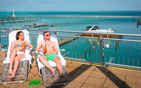 Letní wellness pobyt s polopenzí v srdci Balatonu