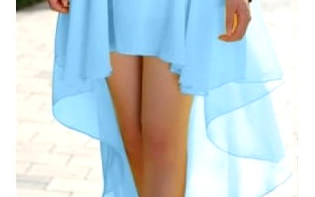 Dámská lehká šifónová sukně v šesti barvách