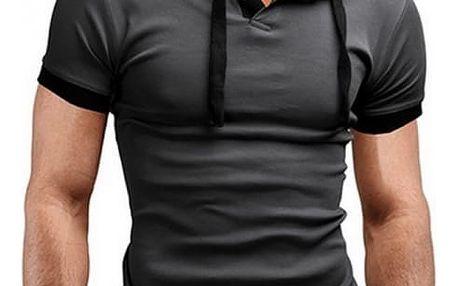 Pánské triko s kapucí - 8 barev