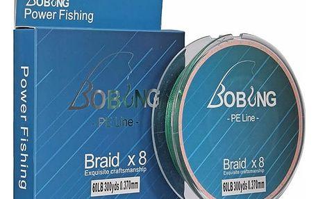 Pletený rybářský vlasec - 300 m / více druhů i barev