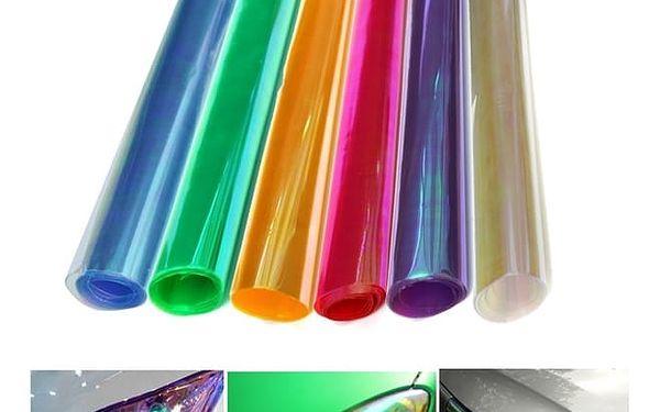 Fólie na světlomety - několik barev - 30 x 60 cm