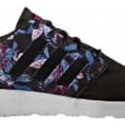 Dámské boty adidas CLOUDFOAM QT RACER W 40 CBLACK/CBLACK/SHOPIN