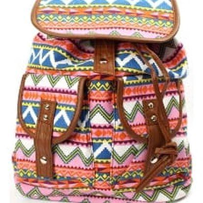 Stylový dámský batoh PINK CLICK
