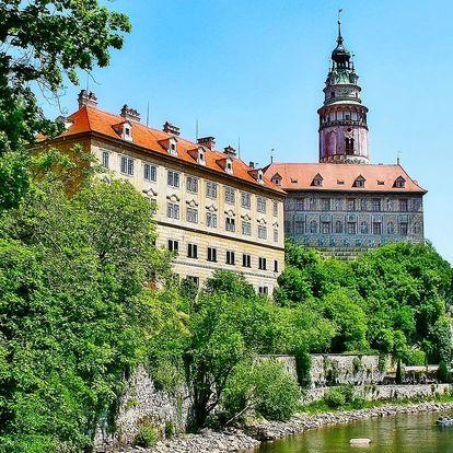 Romantický pobyt v Českém Krumlově se snídaní