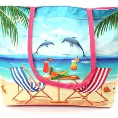 Stylová dámská plážová taška BEACH