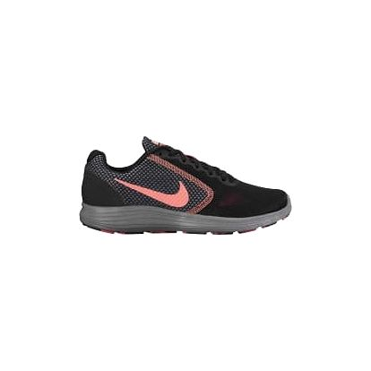 Dámské tenisky Nike WMNS REVOLUTION 3 39 BLACK/LAVA GLOW-HOT PUNCH-COOL