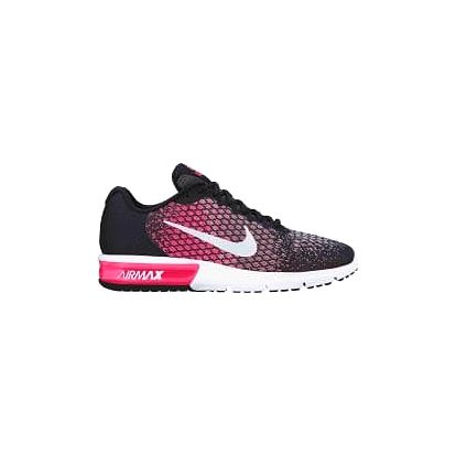 Dámské tenisky Nike WMNS AIR MAX SEQUENT 2 38,5 BLACK/WHITE-RACER PINK-WOLF GR