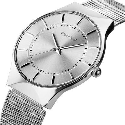 LK shop Elegantní ocelové hodinky Barva: stříbrná