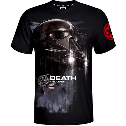 Star Wars - Death Trooper, černé (L)