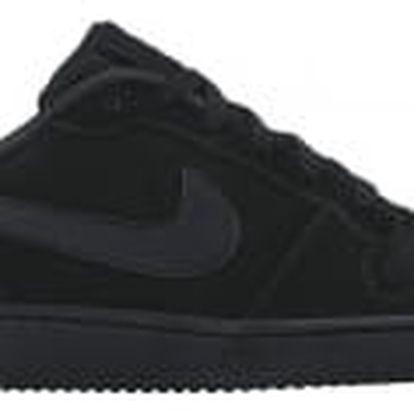 Pánské tenisky Nike COURT BOROUGH LOW 46 BLACK/BLACK-BLACK