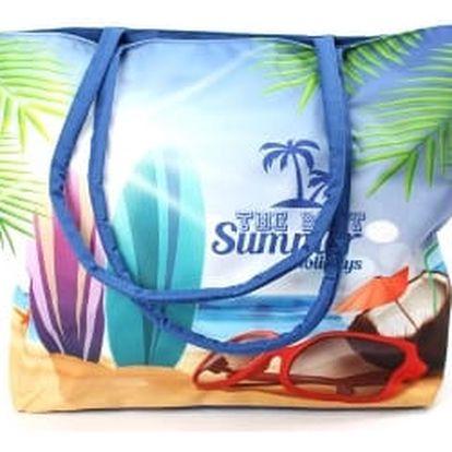 Stylová dámská plážová taška SUMMER