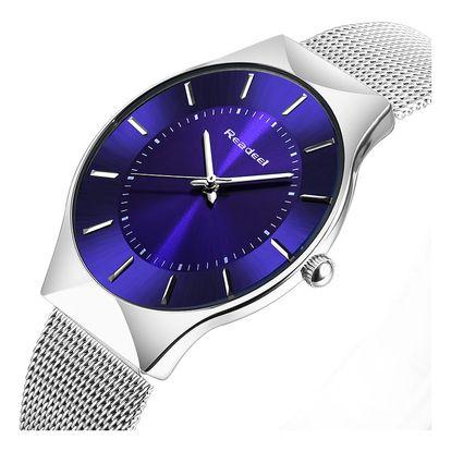 LK shop Elegantní ocelové hodinky Barva: modrá