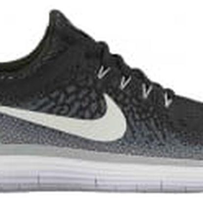 Pánské běžecké boty Nike FREE RN DISTANCE 2 44 BLACK/WHITE-COOL GREY-DARK GRE