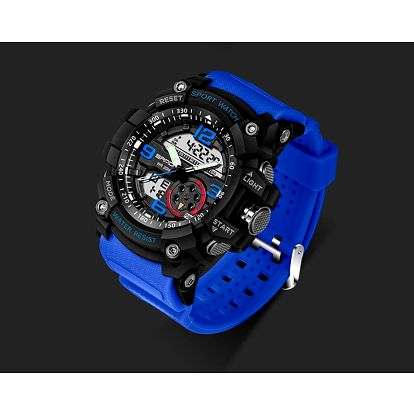 LK shop Vodotěsné hodinky s podsvícením Barva: modrá