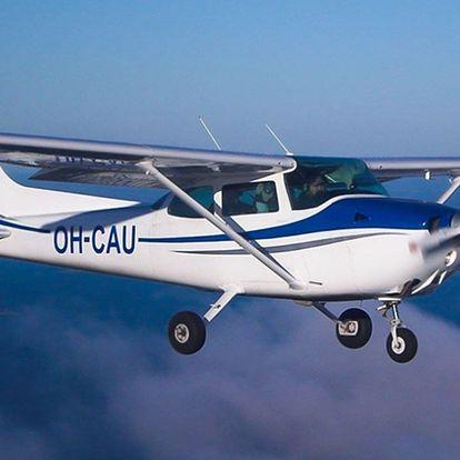 Zážitkový let s možností pilotování letadla